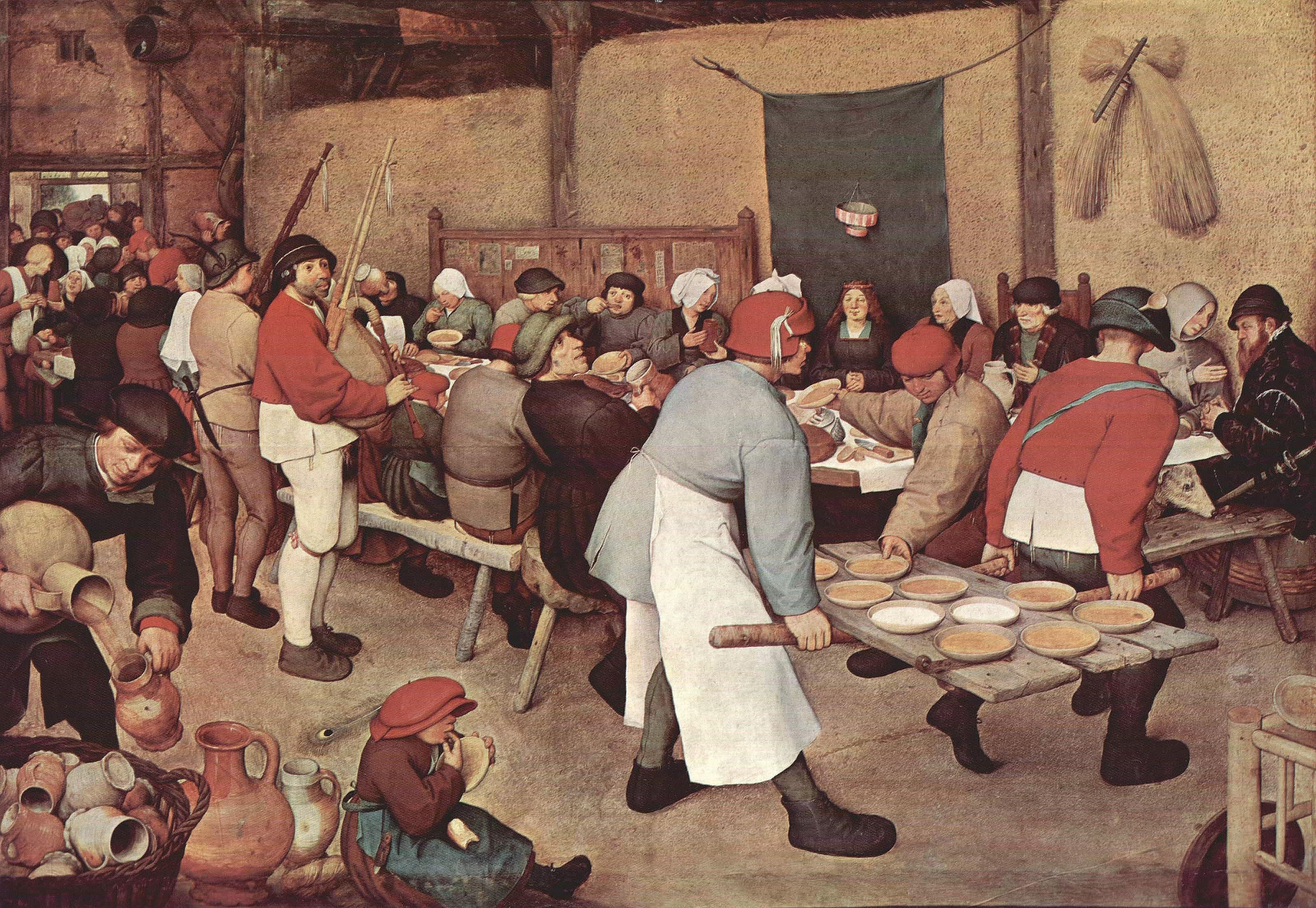 Bauernhochzeit